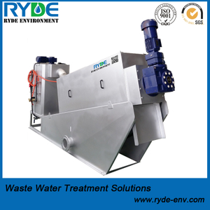 Space-saving Screw Sludge Thickener Replacing Sludge Thickening Tank