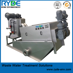 RDL252 Type Multi Disc Screw Press Machine for Wastewater Detwatering